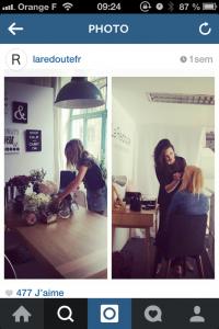 Atelier de couronne de fleurs pour Le Loft by La Redoute