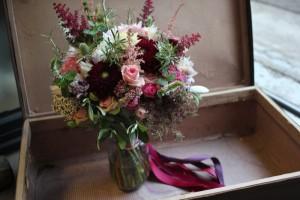 Émilie et son chéri - Bouquet de mariée