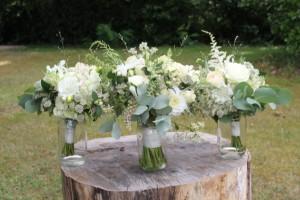 Nawel et Rasmus - Bouquet mariée et bridesmaid