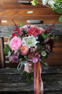 Pauline et Damien - Bouquet de mariée