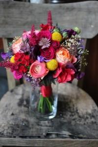 Caroline et Michael - Bouquet mariage civil