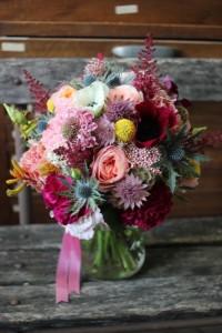 Fabienne et Fabien - Bouquet de mariée