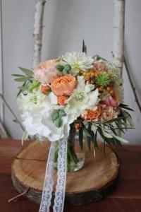 Solène et Jamal - Bouquet de mariée
