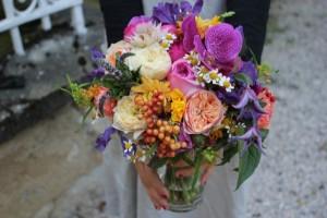 Yasmin et Ben - Bouquet de mariée